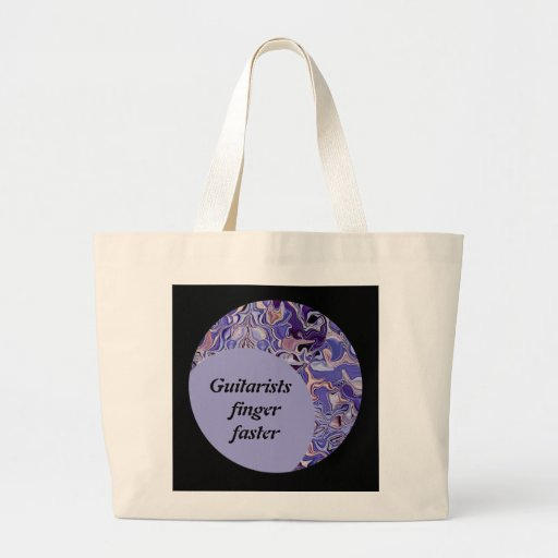 Guitarists finger faster canvas bags