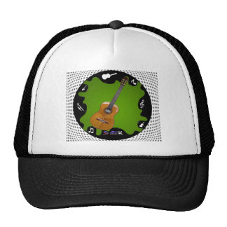 GUITARRA GIFTS CUSTOMIZABLE PRODUCTS TRUCKER HAT