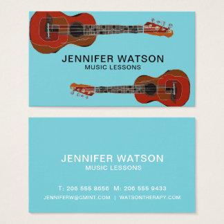 Guitars business card