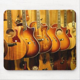 Guitars Mouse Pad