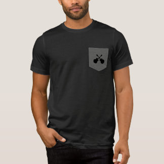 guitars music black T-Shirt