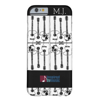 guitars music-inspired-design barely there iPhone 6 case
