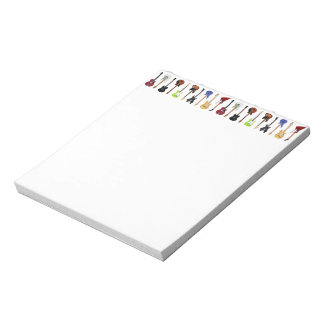 Guitars Notepads