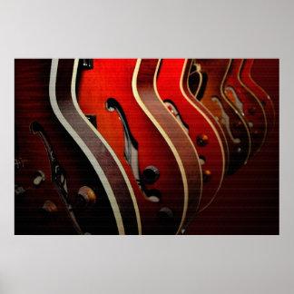 Guitars: Take Your Pick 36 x 24 Poster