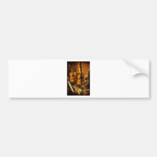Guitars Watercolor Bumper Sticker