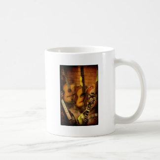 Guitars Watercolor Classic White Coffee Mug