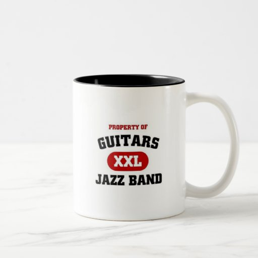Guitars XXL Jazz band Mug