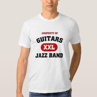 Guitars XXL Jazz band T-shirts