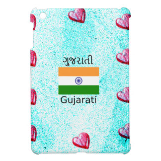 Gujarati (India) Language And Flag Design iPad Mini Cases