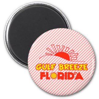 Gulf Breeze, Florida 6 Cm Round Magnet