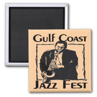 GulF Coast Jazz Fest Magnet