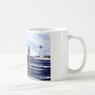 Gulf Coast lighthouses Basic White Mug