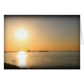 Gulf Coast Sunrise Card