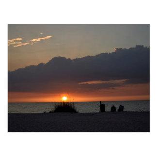 Gulf Coast Sunset - Florida Postcard