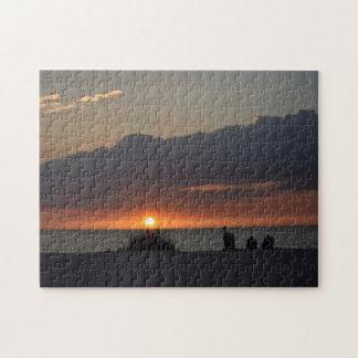 Gulf Coast Sunset - Florida Puzzle