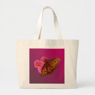 Gulf Fritillary Tote Bags