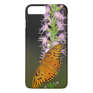 Gulf Fritillary Butterfly on Blazingstar Flower iPhone 7 Plus Case