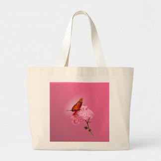 Gulf Fritillary Large Tote Bag