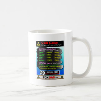 Gulf Gases Basic White Mug
