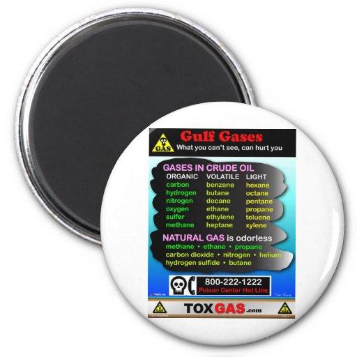 Gulf Gases Fridge Magnet