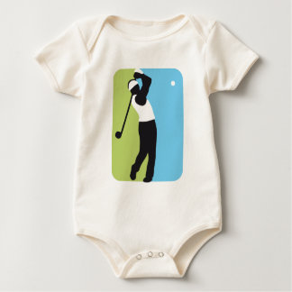 gulf more player baby bodysuit