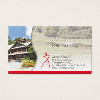Gulf Resort Professional Business Card