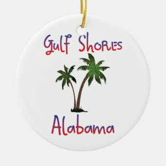 Gulf Shores Alabama Ceramic Ornament