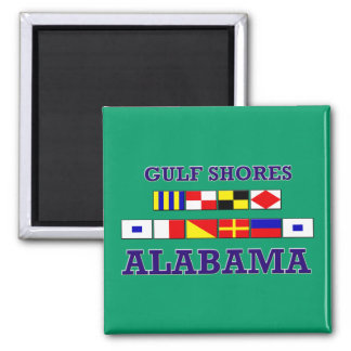 Gulf Shores Flags Magnet