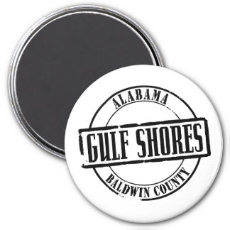 Gulf Shores Title Fridge Magnet