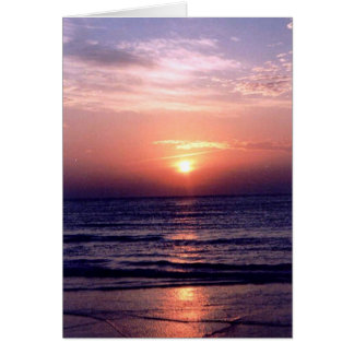 Gulf Sunrise Card