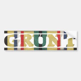 Gulf War GRUNT Bumper Sticker