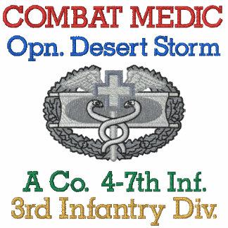 Gulf War Unit Combat Medic Shirt Polos