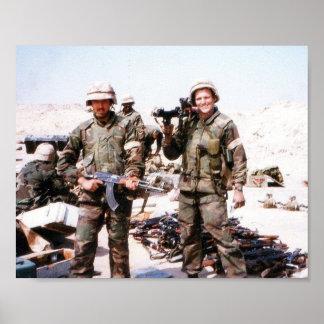 Gulf War - Weapons Cache Poster