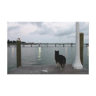 Gulfport Pier 1 Canvas Print