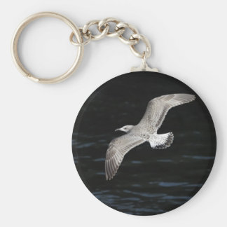 Gull Basic Round Button Key Ring