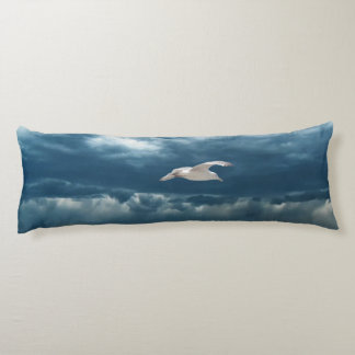 Gull in a Storm Body Pillow