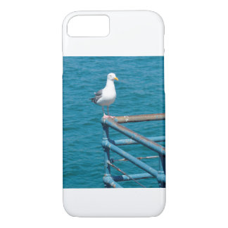 Gull on Railing iPhone 8/7 Case