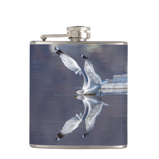 Gull Reflections Hip Flask
