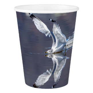 Gull Reflections Paper Cup