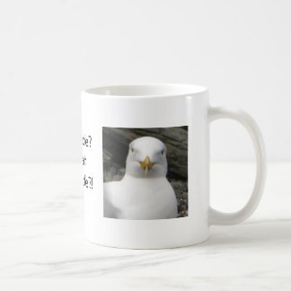 Gull with attitude coffee mug
