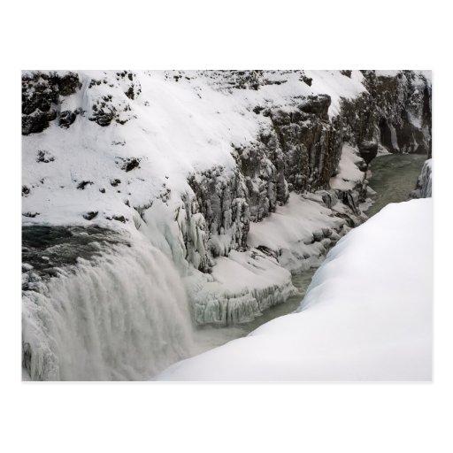 Gullfoss #2 postcard