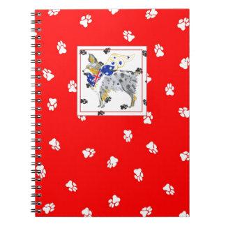 Gulliver's Angels Australian Shepherd Notebook