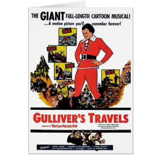 """Gulliver's Travels"" Card"