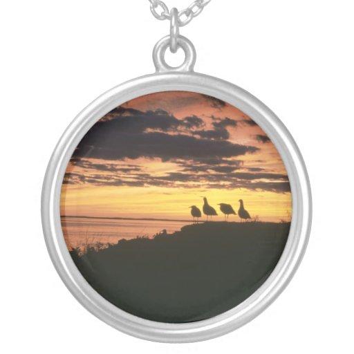 Gulls at Sunset Custom Jewelry