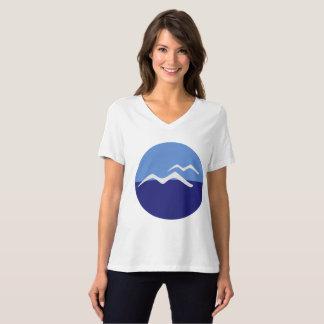 Gulls / Women's Bella Relaxed Fit Jersey V-Neck T-Shirt