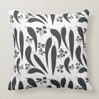 Gum Leaves & Gumnuts Cushion