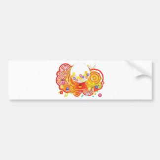 Gum_Machine Bumper Sticker