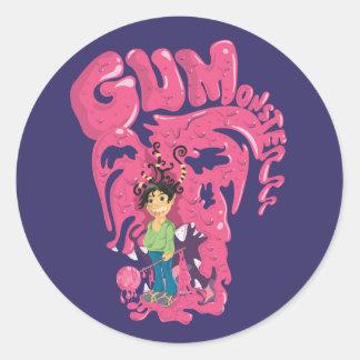 Gum Monsterrr Sticker