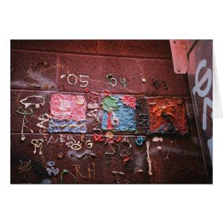 Gum Mural Greeting Card