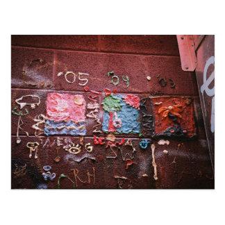 Gum Mural Postcard
